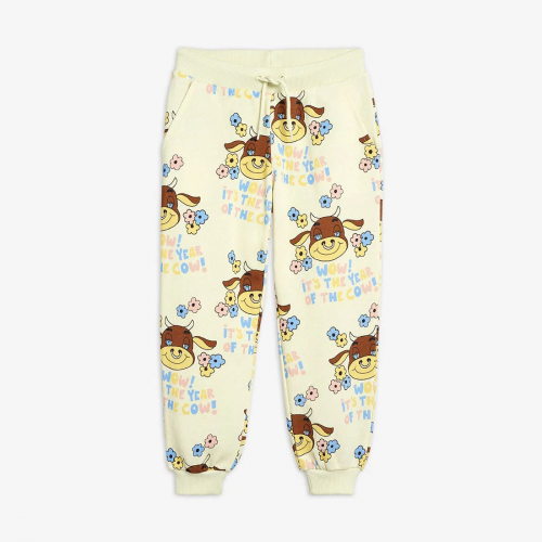 Cow Soft Off White Sweatpants