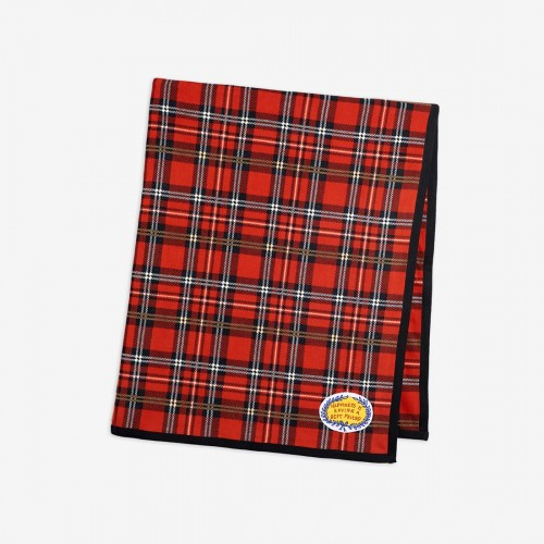 Red Check Fleece Blanket