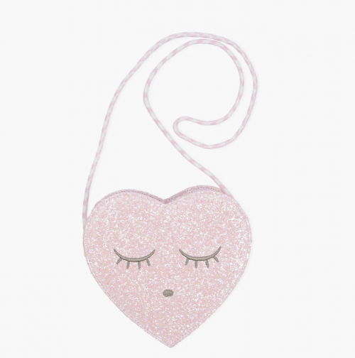 Perfect Heart Glitter Bag