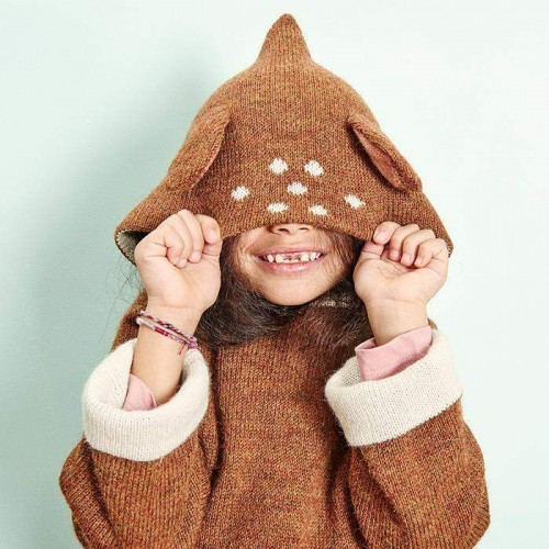 Luxuriously Warm Reversible Bambi Hoodie