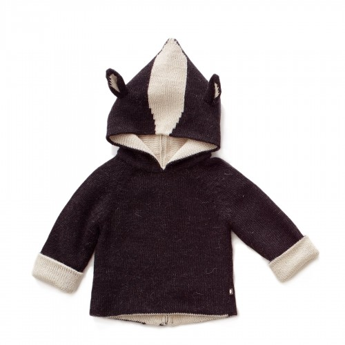 Extra Luxurious Reversible Skunk Hoodie