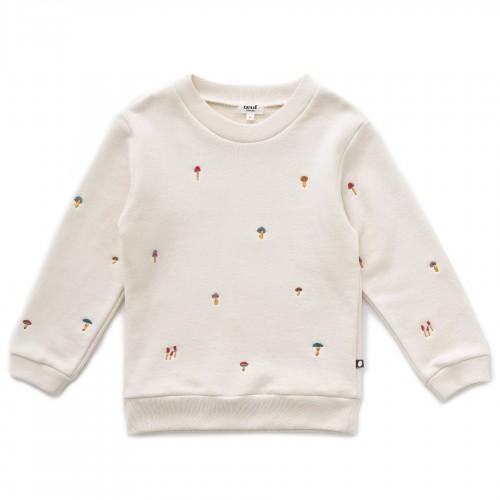 Comfortable Sweatshirt in Gardenia