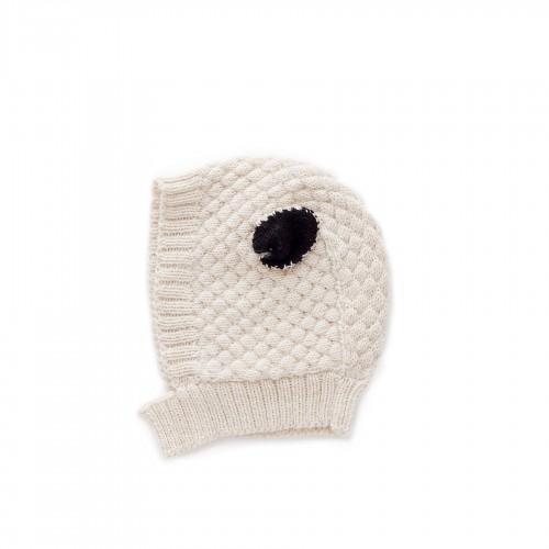 Modern Beige Sheep Hat