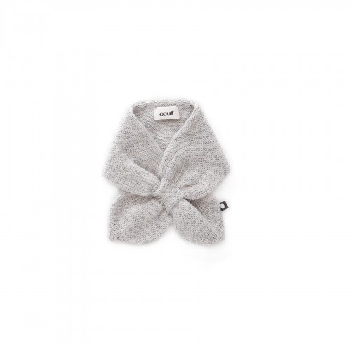 Knitwear Gray Rabbit Neckie