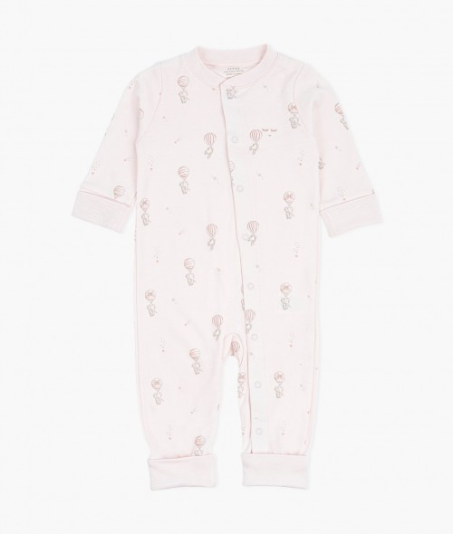 Durable Classic Overall with Flying Elephants