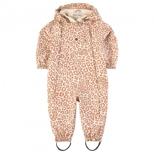 Universal Coverall with Leopard Print