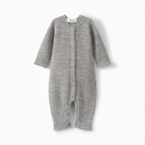 Wool Elegant Baby Merino Onesie