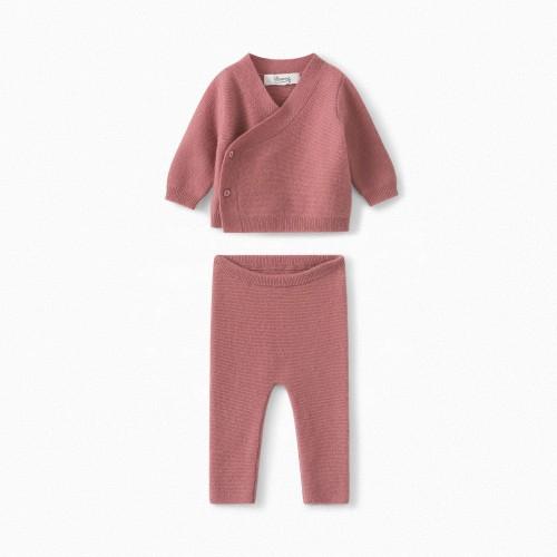 Modern Cashmere Set in Blush Pink