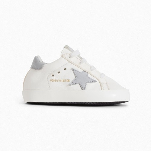 Comfortable Leather Sneakers White