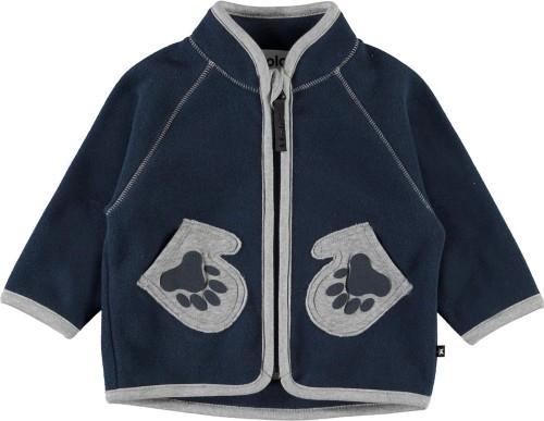 Jacket in Blue Polar Fleece