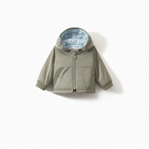 Baby Padded Jacket in Light Green