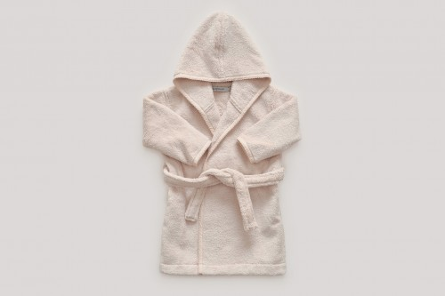 Baby Bath Robe in Beige