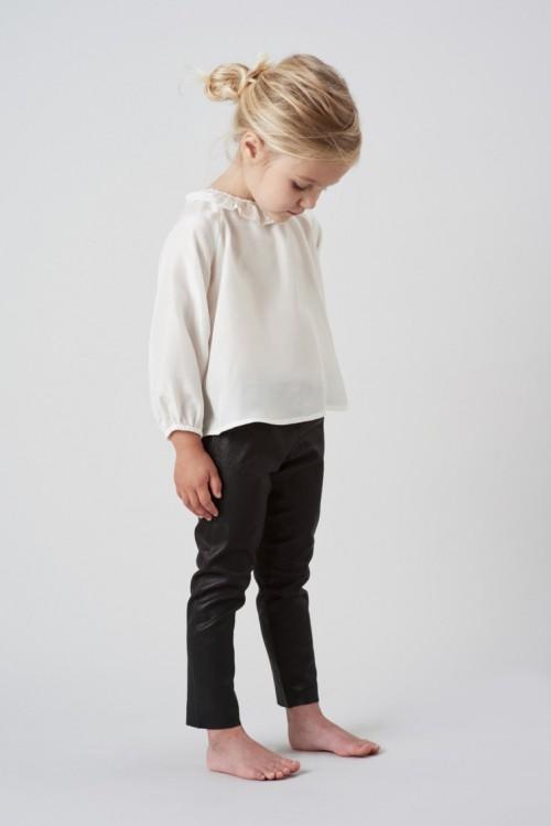 Perfect Black Leather Leggings