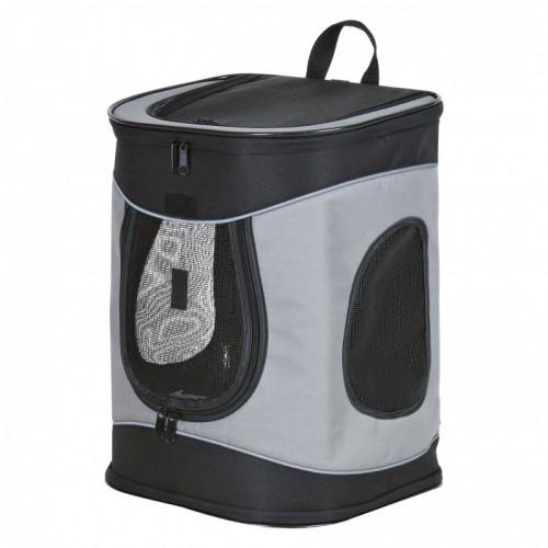 Gray and Black Comfortable Bag