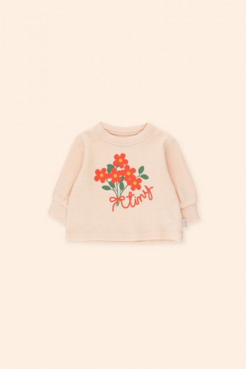 Cute Sweatshirt in Soft Pastel Pink