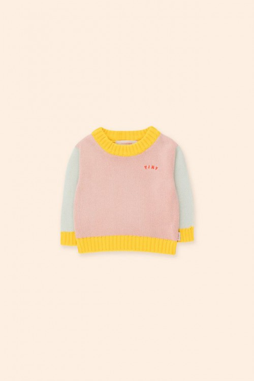 Colorful and Soft Knitted Sweater