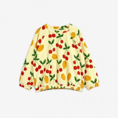 Soft Sweatshirt with Cherry Print