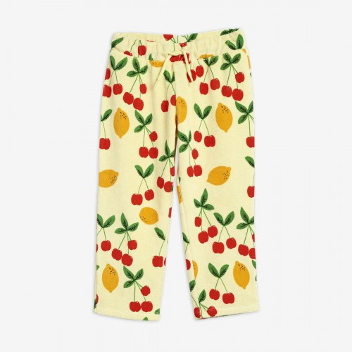 Soft Trousers with Cherry Print