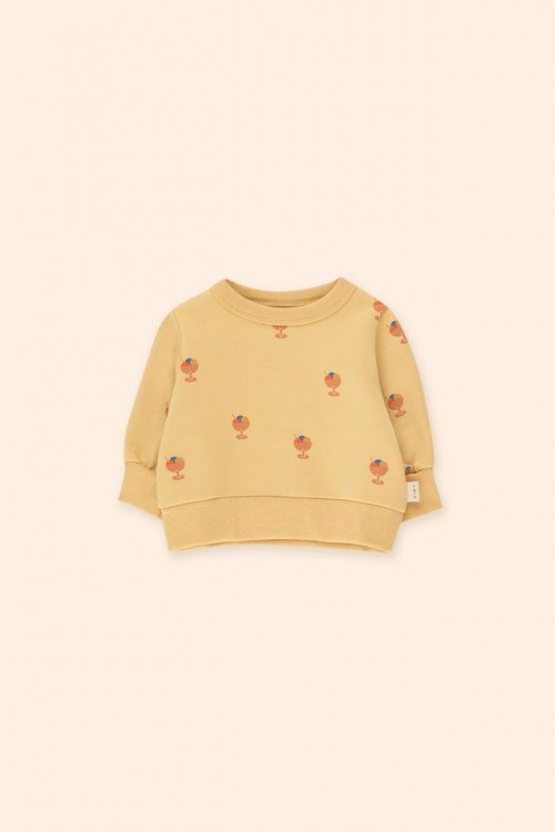 Ice Cream Sweatshirt with Soft Sand Base