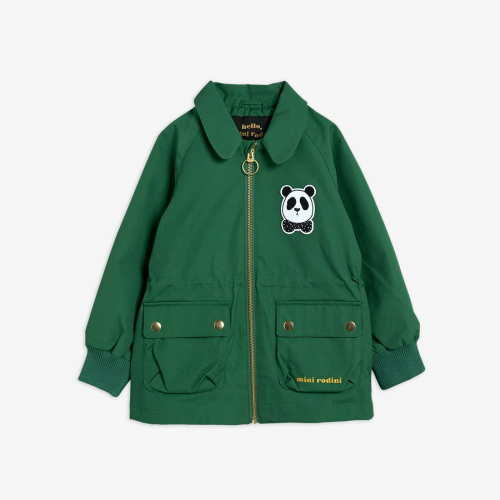 Spring Panda Jacket in Green