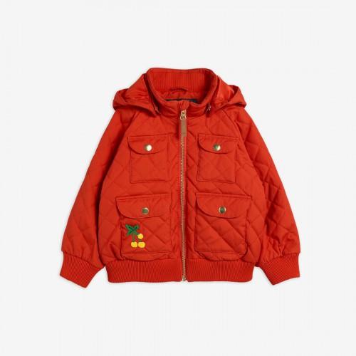 Red Jacket with Slight Padding