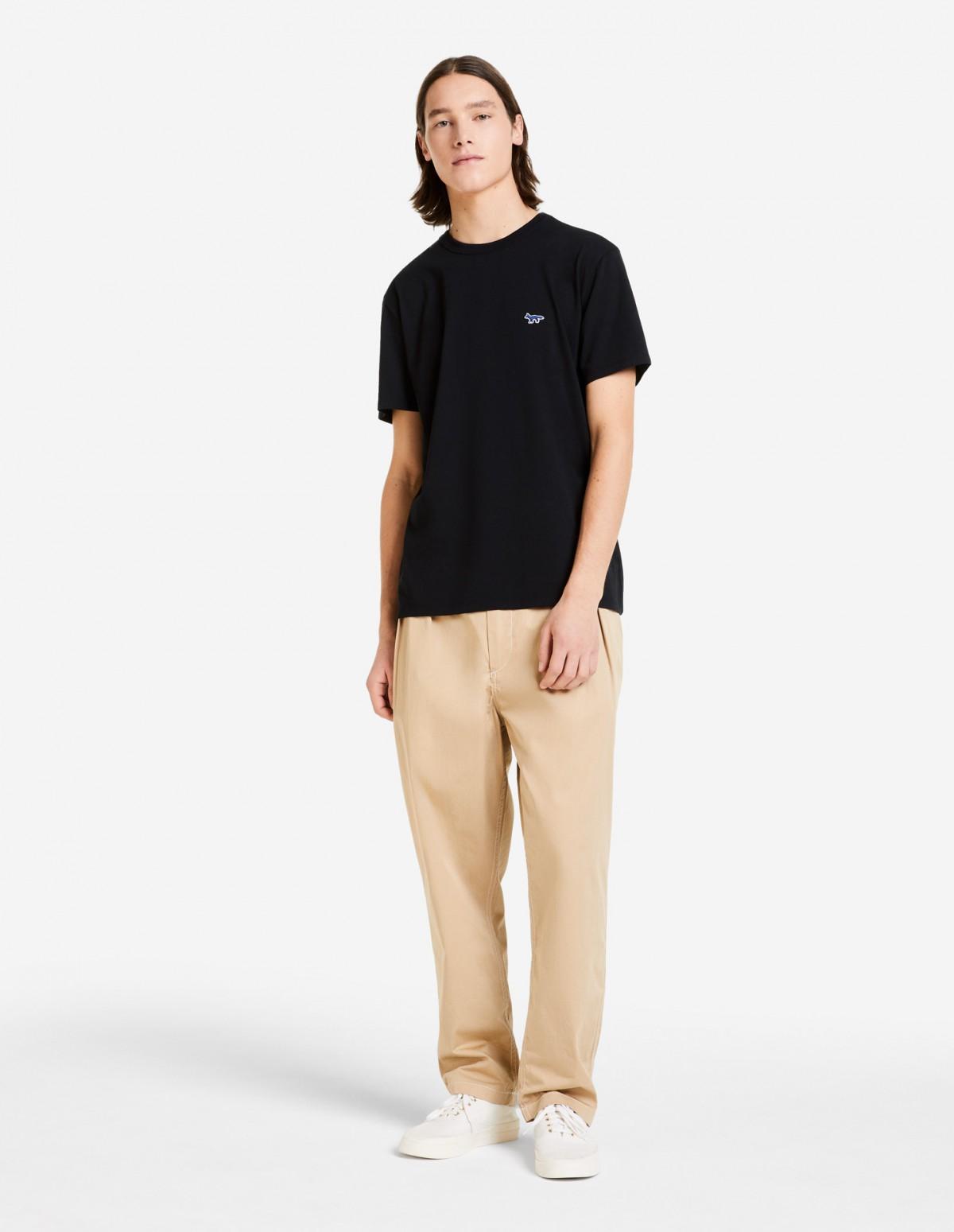 Basic Black Short Sleeve Cotton T-shirt