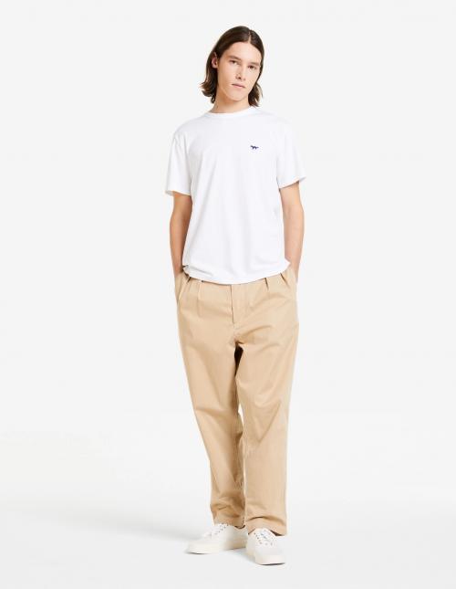 Basic White Short Sleeve Cotton T-shirt