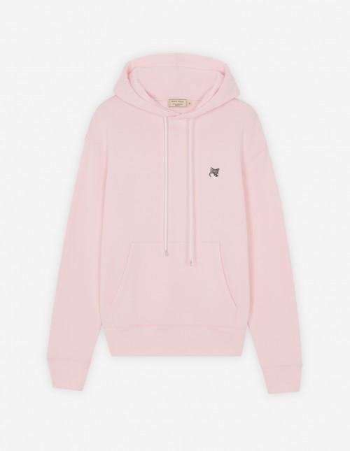 Basic Unisex Cotton Hoodie in Light Pink