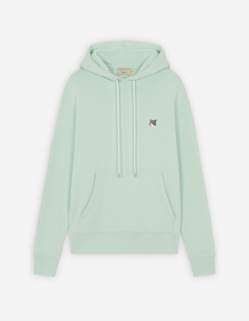 Basic Unisex Cotton Hoodie in Mint