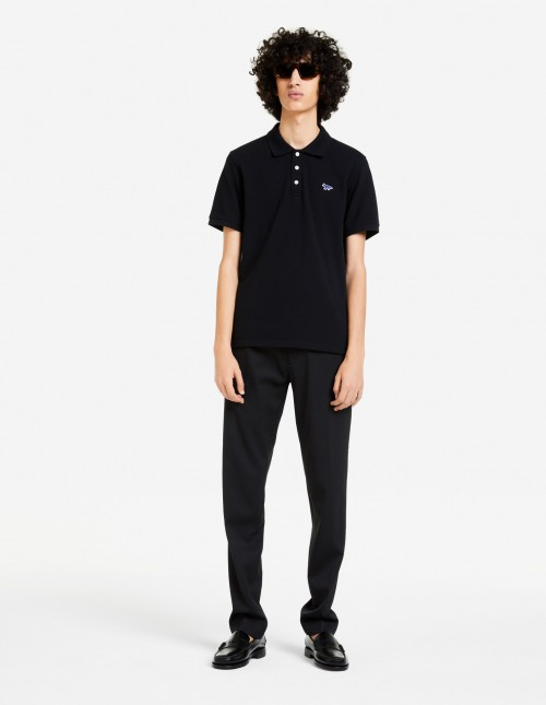 Classic Black Short Sleeve Polo