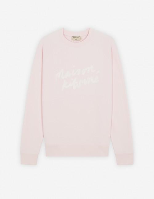Light Pink Iconic Cotton Sweatshirt