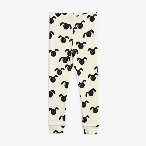 Comfy Leggings with Rabbit Print