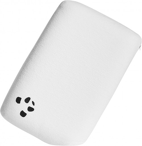 White Memory Foam Bamboo Pillow