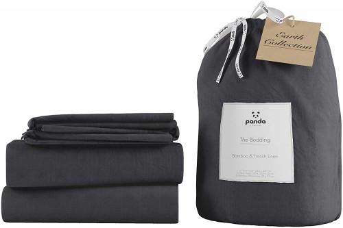 Comfy Linen Bedding in Slate Colour