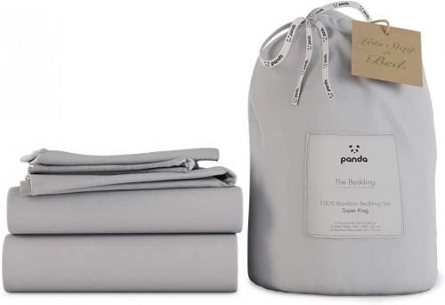 Grey Bamboo Bedding Set