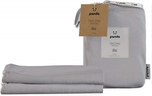 Quiet Grey Bamboo Fitted Sheets