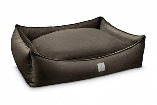 Superb Dog Bed in Chocolate Brown