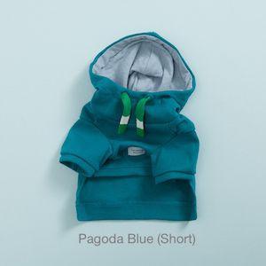 Functional Hoody in Blue