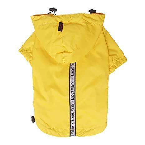 Waterproof Raincoat in Yellow