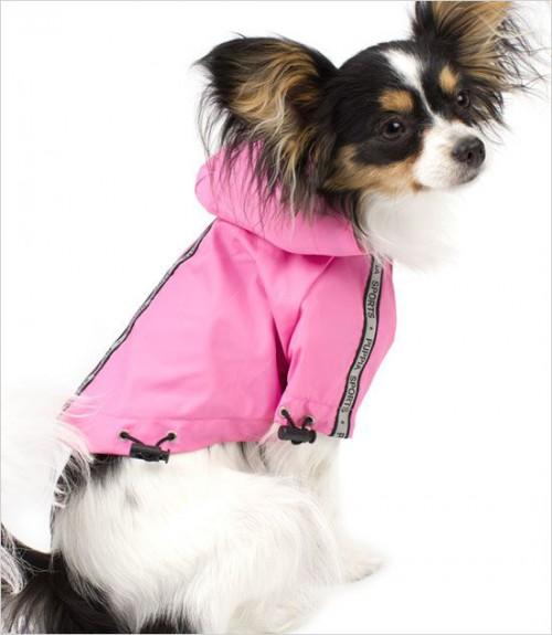 Fully Waterproof Pink Raincoat
