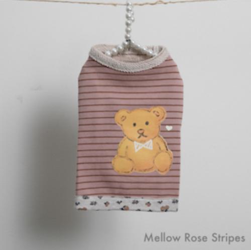 Cute Bear Sweater in Rose