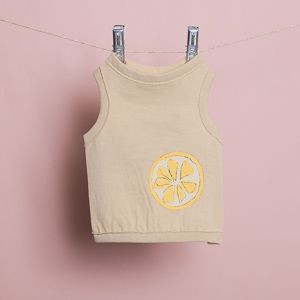 Useful Sleeveless Tee in Lemon