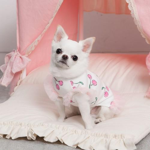 Adorable Cherry Ballerina Top