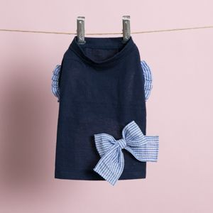 Organic Cotton  Sleeveless in Navy