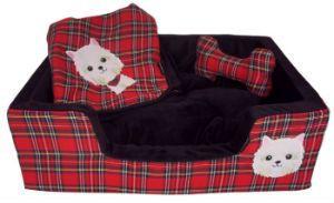 Super Stylish Red&Black Bed