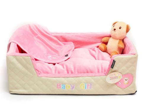 Perfect Puppy Pink Bed