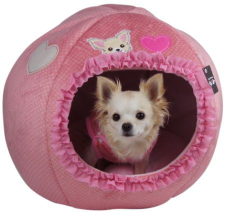 Pink Egg Bed for Chihuahua