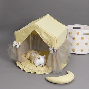 Comfortable Dog House in Yellow