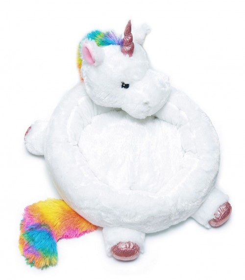 Adorable Soft Unicorn Bed