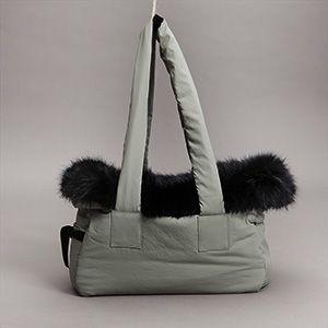Dog Carrier Bag in Khaki